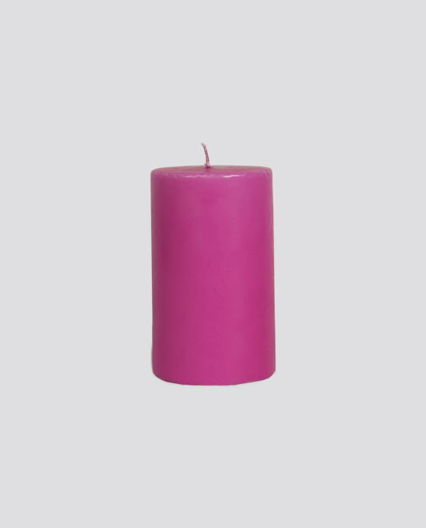 Rose Bright Cylindrical Candle