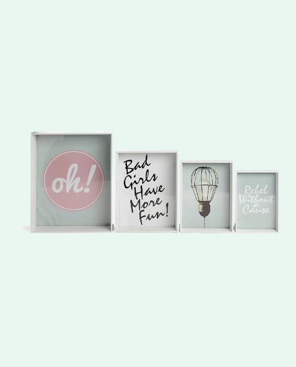 Life Set of 4 Picture Frames